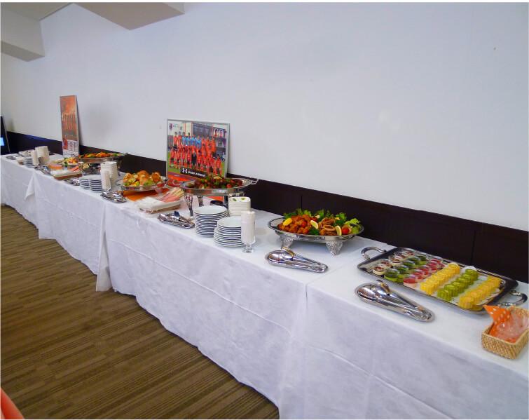 プロスポーツ・大宮アルディージャクラブハウス食堂の写真