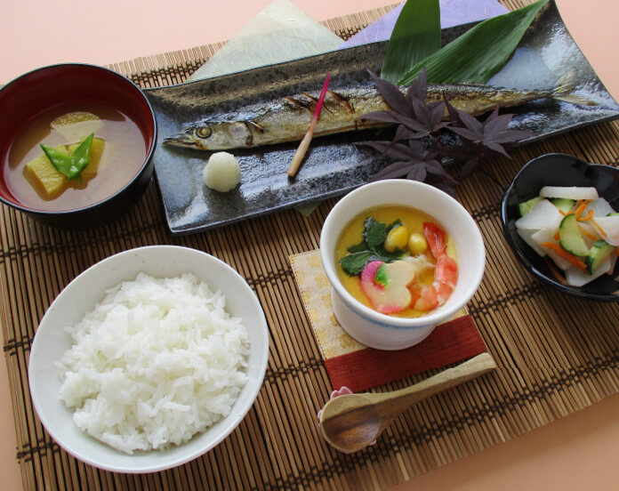 若菜の食事の写真