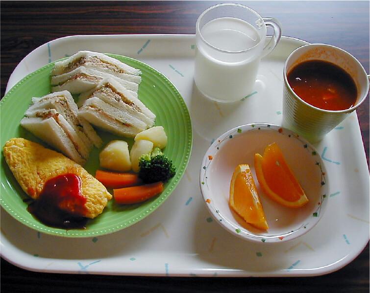 イベント食の一例の写真